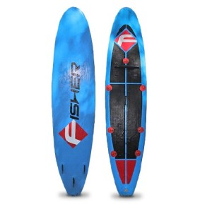 Fisher Aria 11 Inflatable Stand up Paddle Board SUP with Case